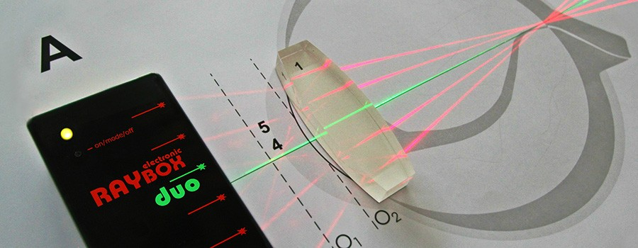 Duo Laser Ray Box Electronic
